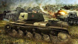 Видео-анимациия  - Колобанов Танковый Бой под Ленинградом (ВОВ 1941 1945)