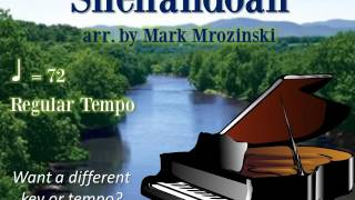 Shenandoah arr. by Mrozinski Piano Accompaniment