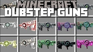 Minecraft DUBSTEP GUN MOD / SHOOT MUSIC WEAPONS AND WATCH IT PARTY!! Minecraft