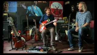 The former XTC guitarist show us around his vintage collection © 20...