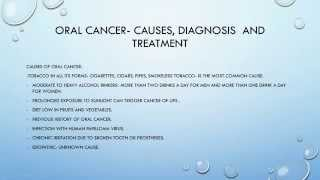 Oral Cancer- Thumbnail
