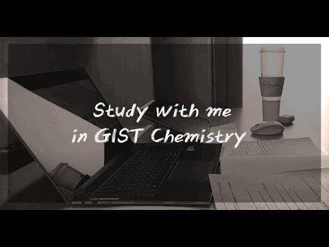 Study with me in GIST Chemistry | 함께공부해요 | 지스트 화학전공
