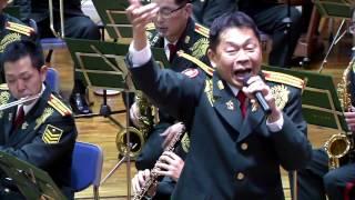 陸上自衛隊第1音楽隊 レインボーコンサート 先任上級曹長の歌うスーダラ...