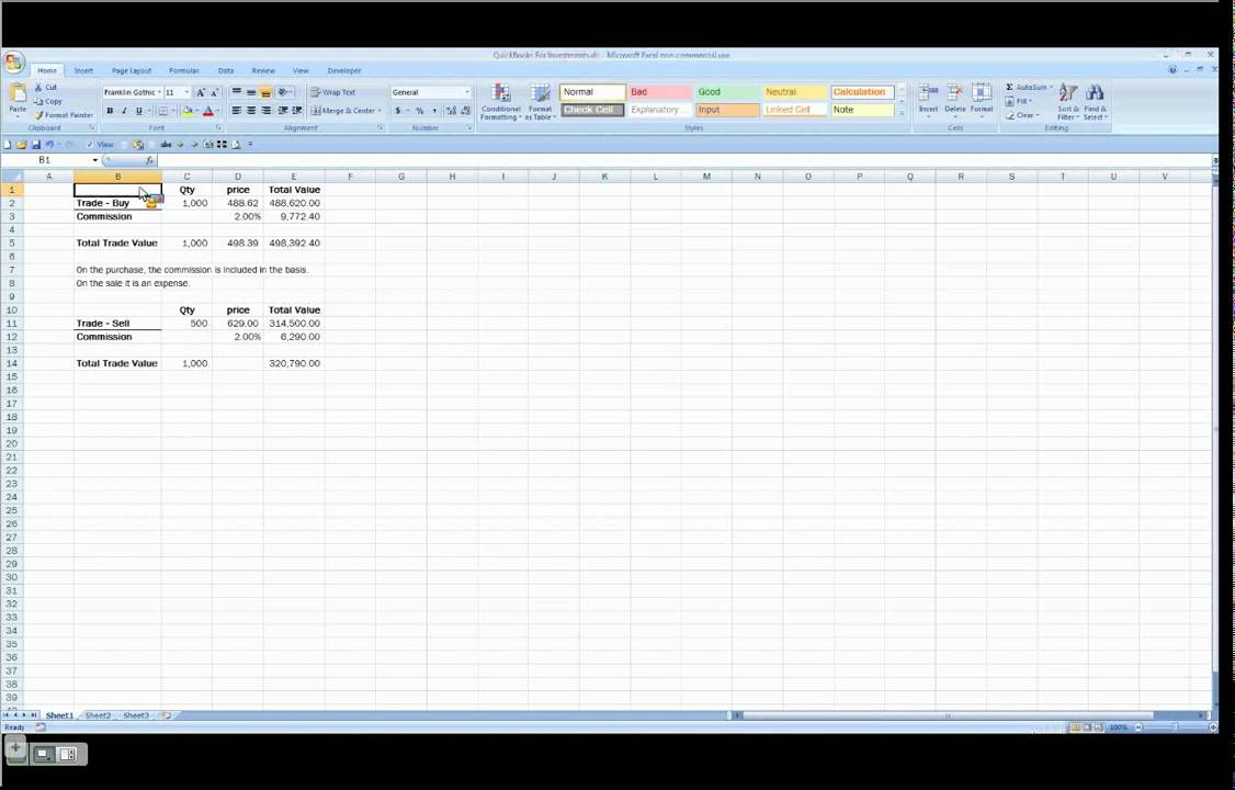 QuickBooks Tutorial - How To Track Stock Investments in QuickBooks