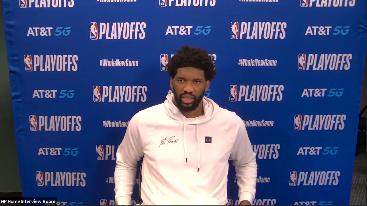 Joel Embiid Discusses State Of 76ers After Game 4 Loss To Celtics | Postgame Interview