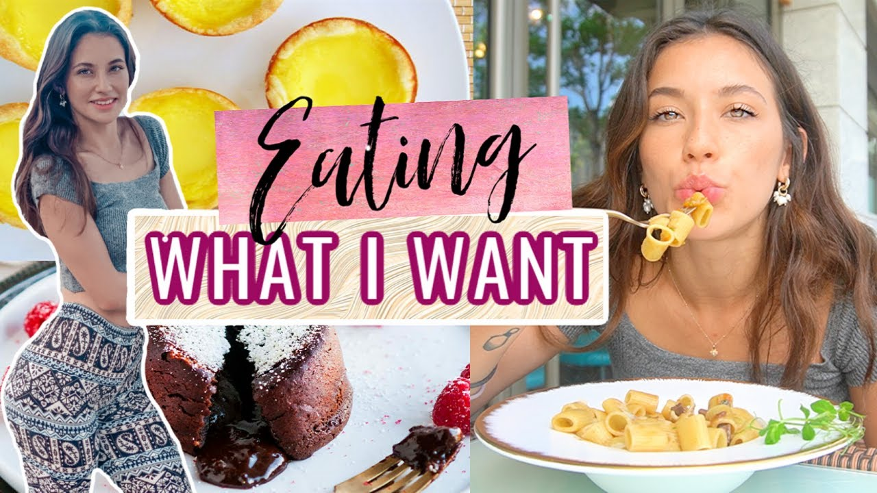 I Ate EVERYTHING I WANTED For A Day *EPIC FOOD DAY*