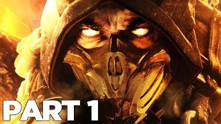 MORTAL KOMBAT 11 STORY MODE Walkthrough Gameplay Part 1 - INTRO (MK11)
