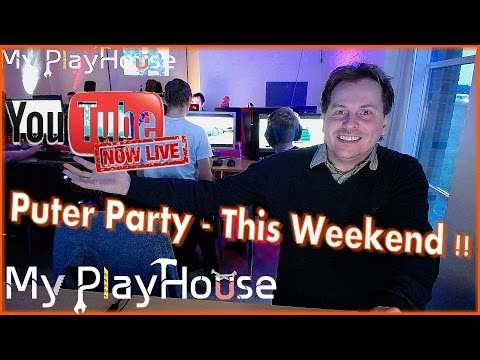 🔴LIVE Streaming from Puter Party