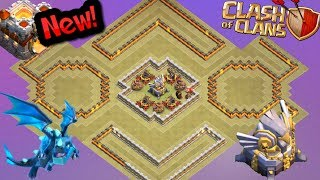 New Update Th11 War Base 2018 With 2 Replays Anti 2 Star New Nice Looking Base Clash Of Clans