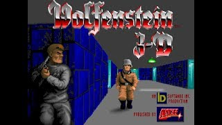 WOLFENSTEIN 3D - PLAYTHROUGH - PART 2