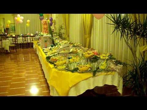 Buffet compleanno La Bussola Hotel festa evento party Capo Vaticano ...