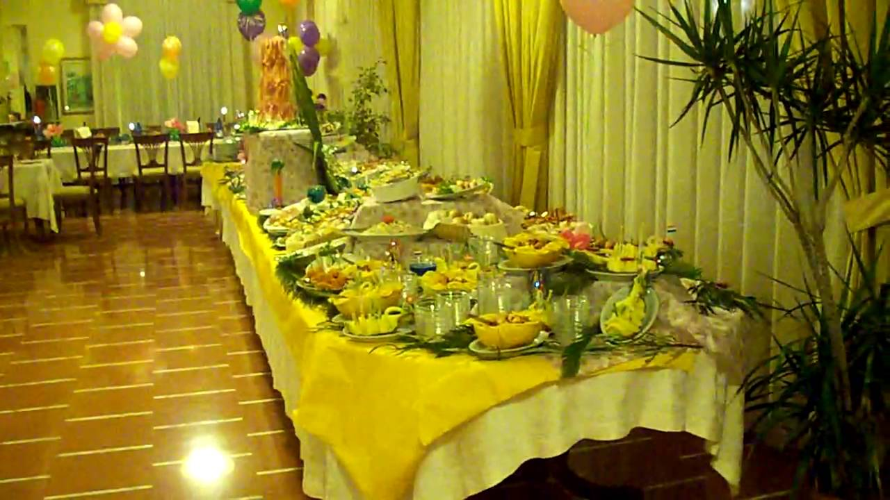 Buffet Compleanno La Bussola Hotel Festa Evento Party Capo Vaticano