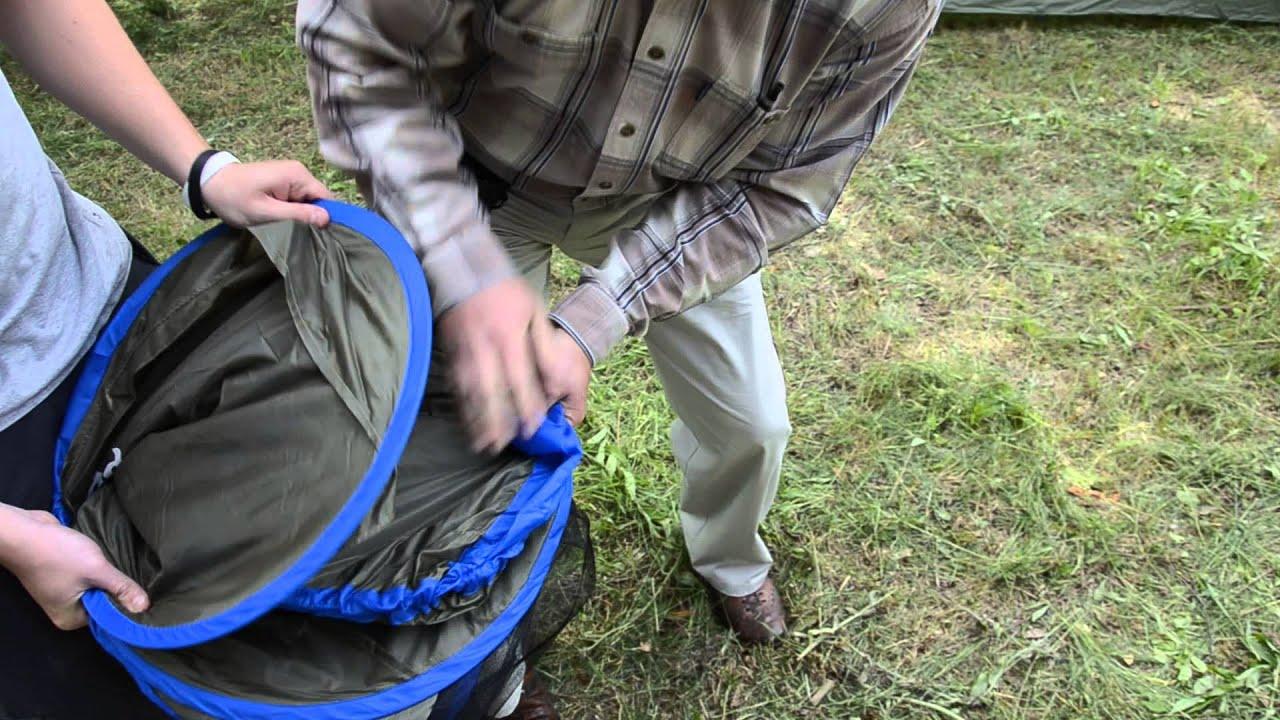 Jak Złożyć Namiot Parawan Plażowy Acamper B1125 Youtube