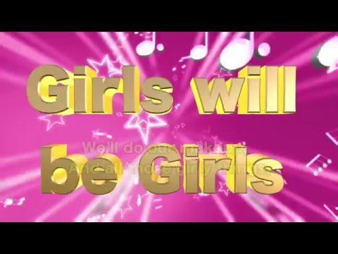 Little BEES - Girls will be Girls karaoke