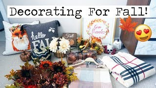 DECORATE WITH ME FOR FALL!    Jenna's Journey Ep. 42