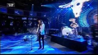 D:A:D - Live at the TV2009 show playing Isnt That Wild / Beautiful Together.