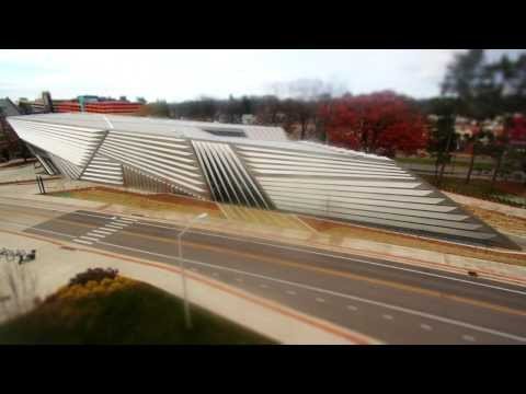 Broad Art Museum at Michigan State University time-lapse video