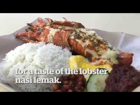 Fancy A Lobster Nasi Lemak?