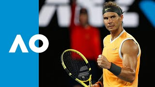 Rafael Nadal v Matthew Ebden match highlights (2R) | Australian Open 2019