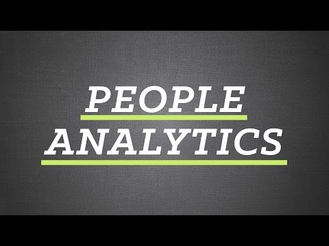 The Future Of Work – People Analytics