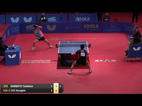 2016 WJTTC  (JBS-Final) HARIMOTO Tomokazu Vs CHO Seungmin [Full Match|HD]
