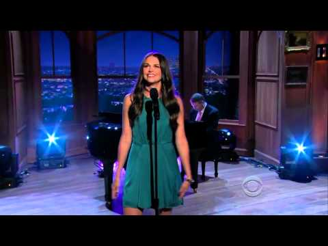 Sutton Foster - Down With Love - Craig Ferguson 2012.08.31.