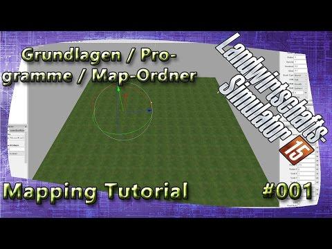 LS15 Map Tutorial #001 Programme / Grundlagen / Map-Ordner Erklärung