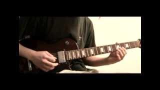 μ-ziq - Hasty Boom Alert (Guitar Cover)