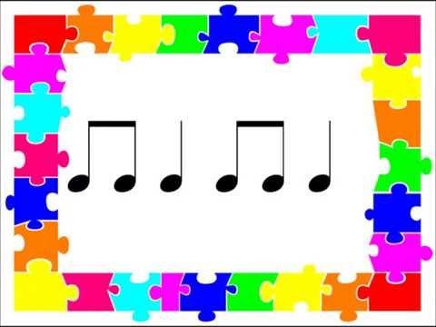 Read and Play The Rhythms: ta ti ti