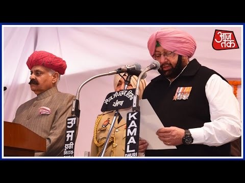 Live: Capt Amarinder Singh Takes Oath As Punjab's CM For The Second Time