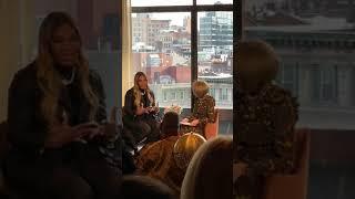🗽Serena Williams Talks Fashion w/ Anna Wintour of Vogue Magazine at NYFW / S by Serena Williams SS20