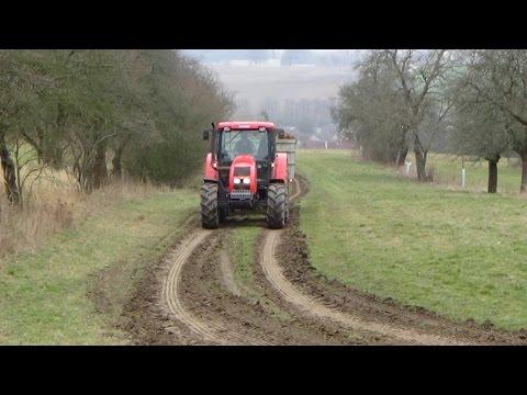 TRACTORS IN ACTION / Vyvážení hnoje  - Manure