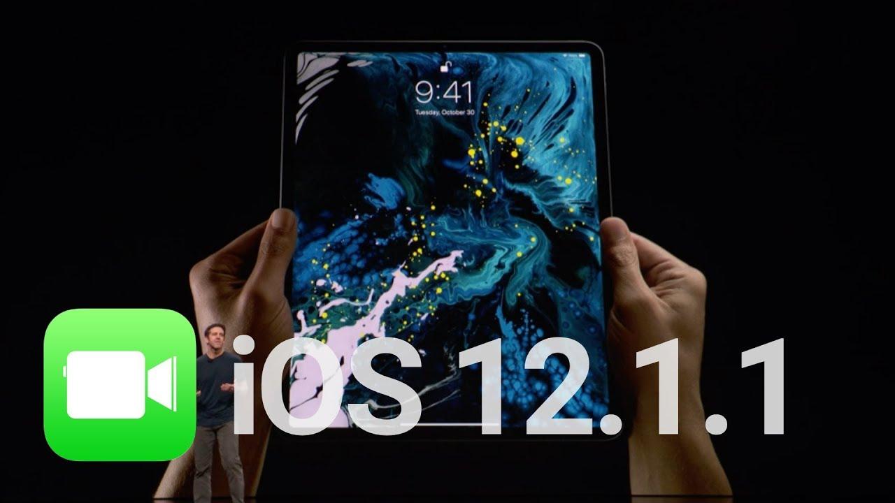 Ios 12 1 1 Facetime Fixes Ipad Pro 2018 Wallpapers Beta 1 Youtube