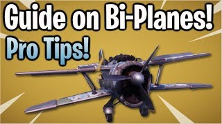 Fortnite: X-4 Stormwing Bi-Plane Tips & Tricks! | Dogfights, Accuracy, & More!
