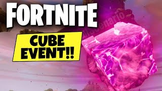 Fortnite Battle Royale | Cube Cracking Event New Leaky Lake
