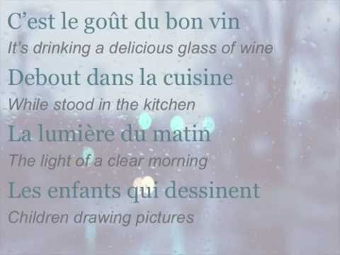 celine-dion-toutes-ces-choses-english-translation-gwynne-g
