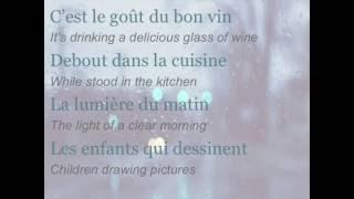 """Céline Dion - """"Toutes ces choses"""" (ENGLISH TRANSLATION)"""
