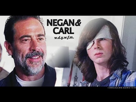 negan/carl | 'did you just threaten me?'