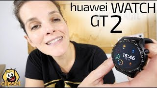 Huawei Watch GT 2 -MONSTRUOSA autonomía-