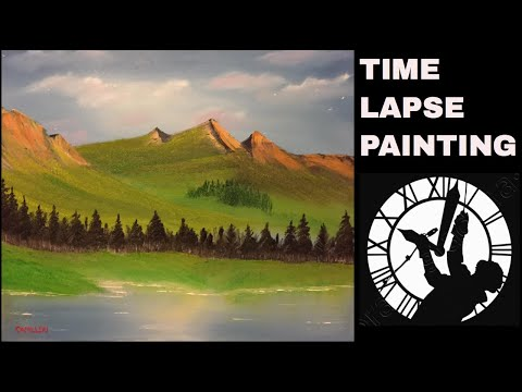 Landscape Oil Painting Time Lapse (2018)