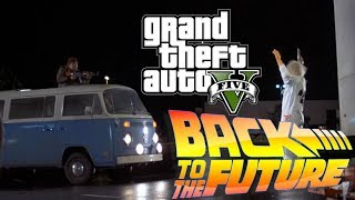 [VO] Back to the Future in GTA 5! Remake - LIBYANS!