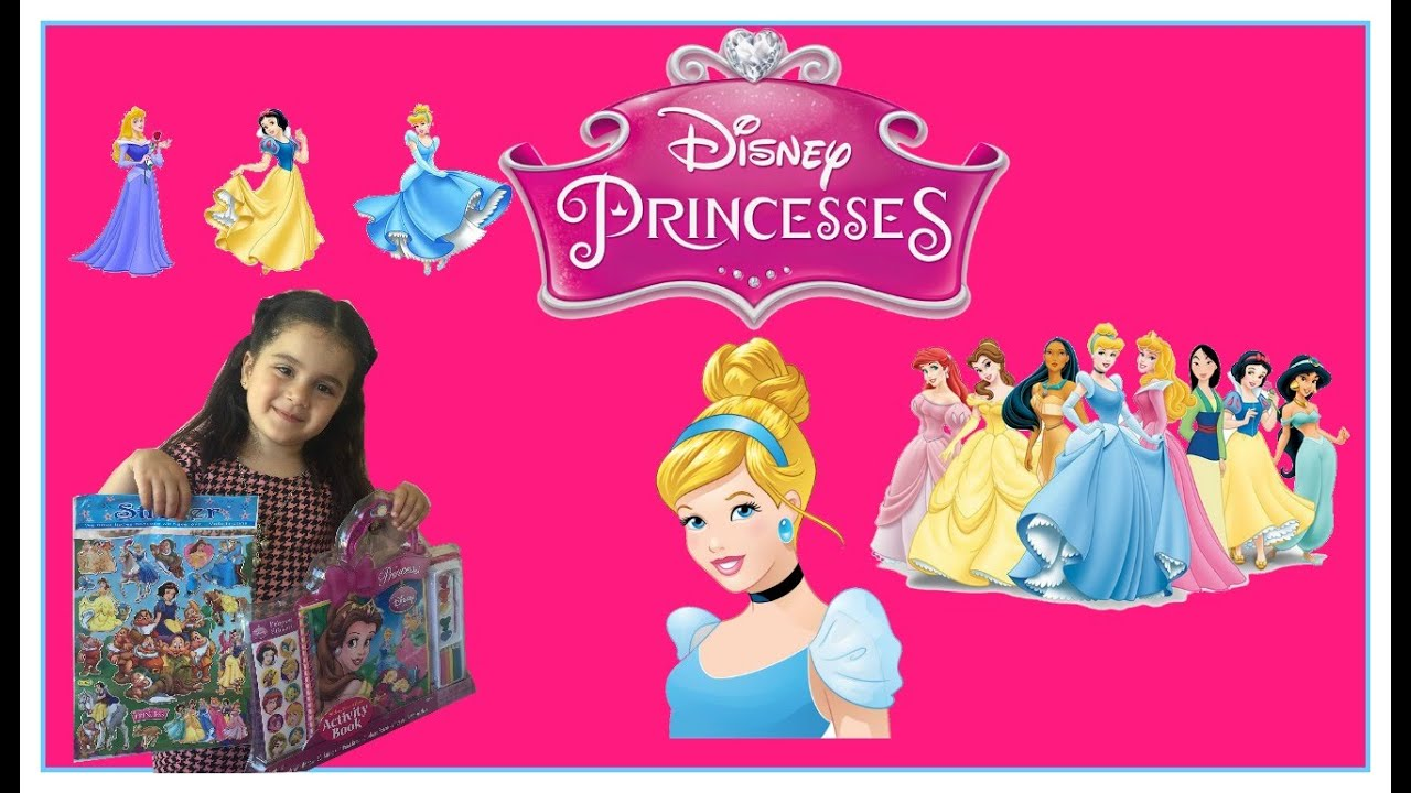 Disney Princess Activity Book And Stickers