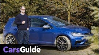 Volkswagen Golf R 2017 review: first Australian drive video