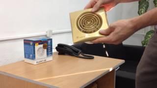 Вентилятор накладной Soler & Palau SILENT-100 CZ GOLD