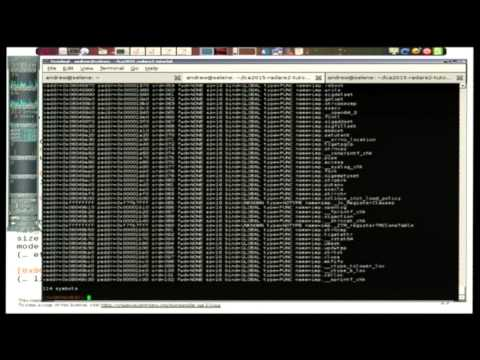 Reverse engineering embedded software using Radare2