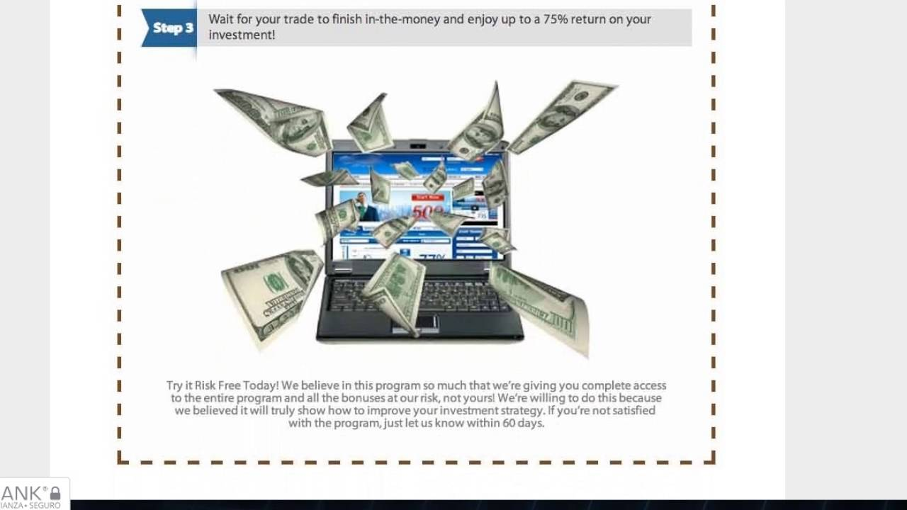 binary options pro signals facebook signing