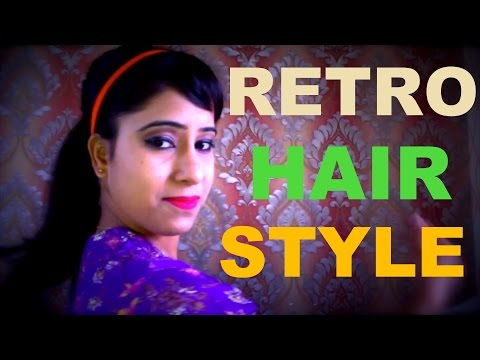 how to make Easy Retro look hair style