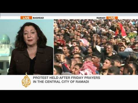 Thousands protest against Iraqi government