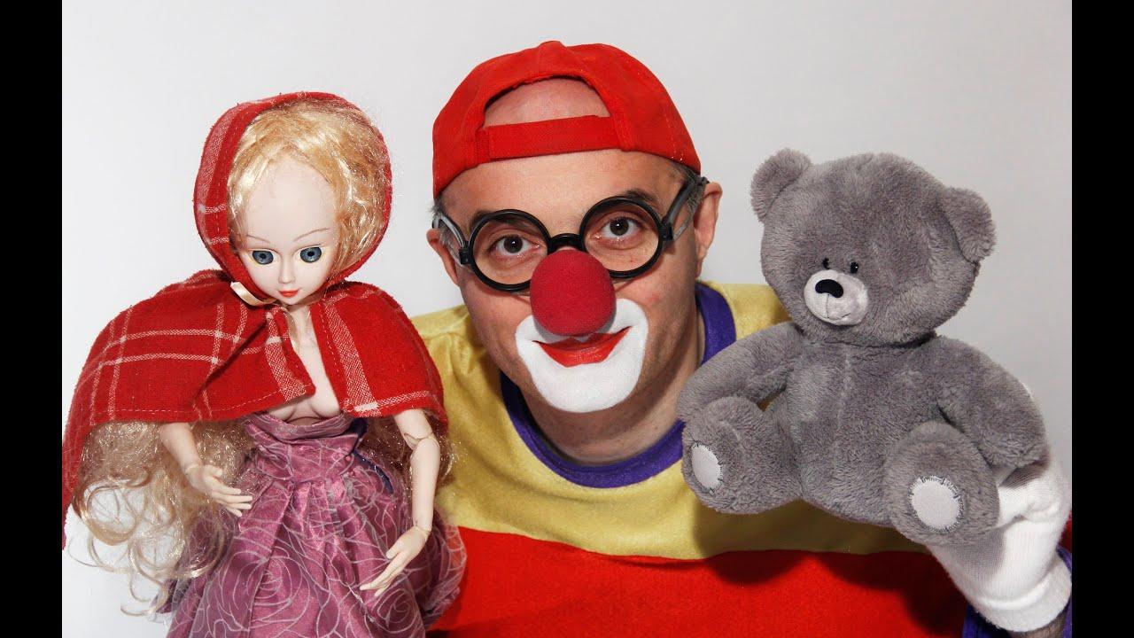 Клоун Дима - Маша и Медведь. Сказка для детей. Развивающее видео