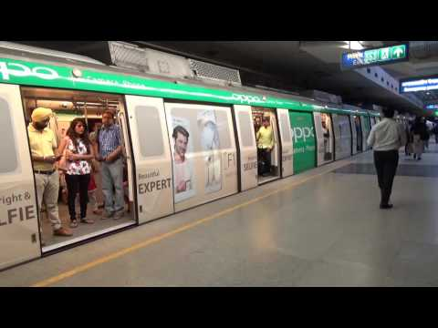 Oppo Delhi Metro Train Wrap